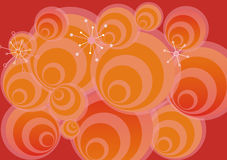 Pop background. With circles Stock Photos