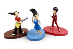 Pop band Stock Images
