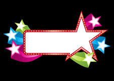 Pop banner Stock Photo