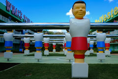 Pop century Giant Foosball Stock Images