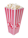 Pop Corn. Isolated on pure white background stock images