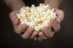 Pop corn Stock Image