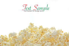 Pop Corn. Closeup for design work stock photo