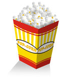 Pop corn. Popcorn box royalty free illustration