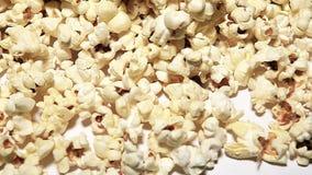 Pop corn background nobody hd footage. Studio stock footage