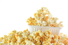 Pop Corn in box Royalty Free Stock Photos
