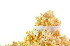 Pop Corn in box Royalty Free Stock Image