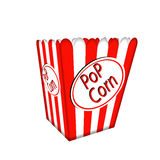Pop corn box. Stock Photo