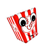 Pop corn box. Stock Photos