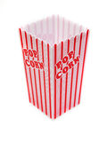 Pop corn box isolated Royalty Free Stock Images
