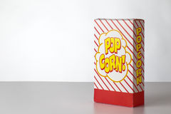 Pop corn box Stock Image