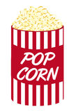 Pop corn cartoon Stock Photos