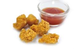 Pop corn chicken Stock Image