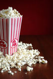 Pop corn container royalty free stock photography