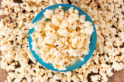 Pop corn in cup Stock Images