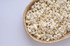 Pop Corn. Delicious Pop Corn on bright background Stock Images