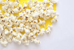 Pop Corn. Delicious Pop Corn on bright background Royalty Free Stock Photos