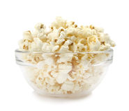 Pop-corn in a dish Stock Image