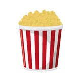 Pop corn of fair food design vector illustration