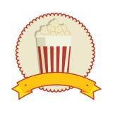 Pop corn food icon. Illustration design Royalty Free Stock Images