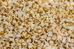 Pop corn in a glass box Stock Images