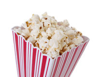 Pop Corn isolated Stock Photos
