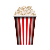 Pop corn isolated icon Royalty Free Stock Image