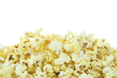 Pop Corn isolated on white Royalty Free Stock Image