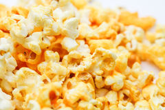 Pop corn. An isolated Pop corn on white background Stock Photo