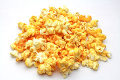 Pop corn. An isolated Pop corn on white background Royalty Free Stock Photography