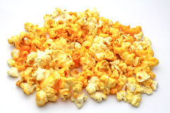 Pop corn. An isolated Pop corn on white background Stock Photography