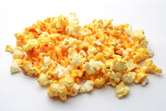 Pop corn. An isolated Pop corn on white background Stock Image