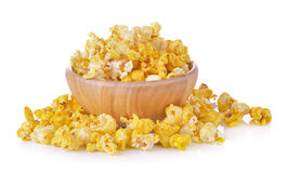 Pop Corn isolated on white background Royalty Free Stock Photography