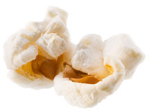 Pop corn isolated on a white background Stock Photo