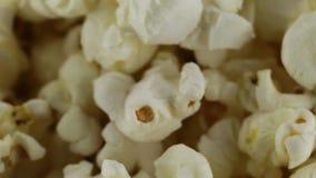 Pop corn just burst. Bio food stock video footage