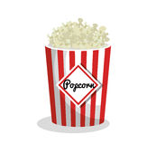 Pop corn movie icon Royalty Free Stock Photography