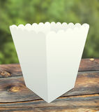 Pop-corn paper cup Royalty Free Stock Images