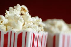 Pop corn snack Royalty Free Stock Image