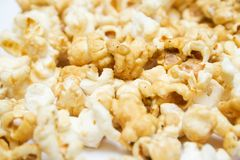 Pop-corn texture. Can be used as background Royalty Free Stock Photography