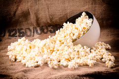 Pop corn time Stock Image