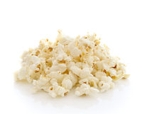 Pop Corn on white background Stock Image