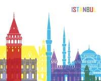 Pop de horizon van Istanboel royalty-vrije illustratie