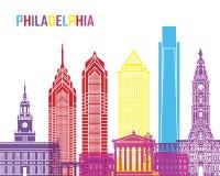 Pop de horizon van Philadelphia vector illustratie