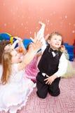 POP för bubblor royaltyfria bilder