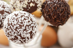 Pop för chokladkaka royaltyfri fotografi