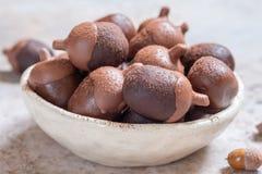 Pop för ekollonchokladkaka fotografering för bildbyråer
