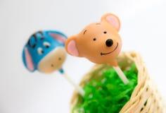 Pop för kaka för pop för kakapopkaka royaltyfri bild