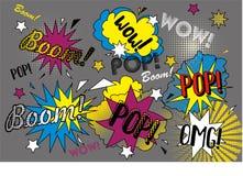 Pop graffiti Royalty-vrije Stock Afbeeldingen