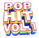 Pop Hit volume 1 -  3d logo Stock Photography