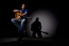 Pop singer Stock Images